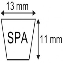 COURROIE SPA.13x11x2882