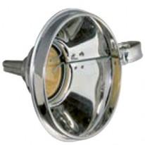 Entonnoir en fer blanc diamètre 160 mm