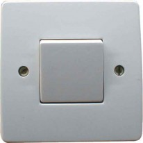 INTERRUPTEUR SIMPLE 10A IVOIRE (BOX)