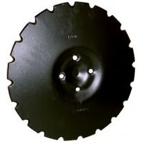 DISQUE CRENELE Diam 430x5 en 4 Trous adaptable VADERSTAD