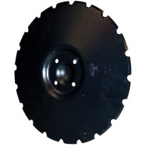 DISQUE CRENELE Diam 450x5 en 4 Trous (adaptable VADERSTAD ref 46694)