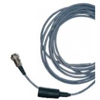 Cable 4.50m avec prise à soufflet caoutchouc