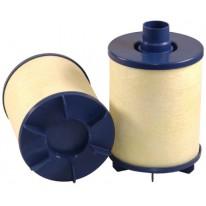 Filtre d'aération pour moissonneuse-batteuse NEW HOLLAND TC 56 moteurFORD     6.75TA/HJ/CD
