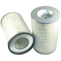 Filtre à air primaire pour chargeur HITACHI LX 450-7 moteur MITSUBISHI 2007-> S6A3-Y2TAA