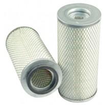 Filtre à air sécurité pour moissonneuse-batteuse CASE 1470 moteurIHC