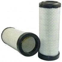 Filtre à air sécurité pour moissonneuse-batteuse CASE 2166 moteurCUMMINS  ->JJC0176199   6 CTA 830