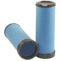 Filtre à air sécurité pour moissonneuse-batteuse JOHN DEERE T 550 moteurJOHN DEERE 2012->    6068VL