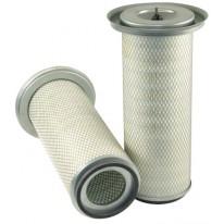 Filtre à air primaire pour moissonneuse-batteuse MASSEY FERGUSON 36 moteurSISU