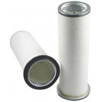 Filtre à air sécurité pour tondeuse FERRARI AGRI MATRA 300 moteur YANMAR 3TNV82A