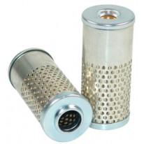 Filtre hydraulique pour moissonneuse-batteuse DEUTZ-FAHR 4075 H/HTS TOPLINER moteurDEUTZ   240 CH  BF 6 L 913 C