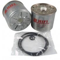 Filtre à gasoil pour tractopelle TEREX TX 760 moteur PERKINS