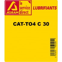 Huile transmission TRACTANS CAT SAE 30 220L