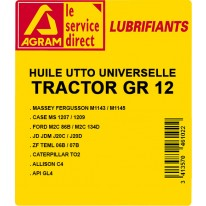 Huile transmission TRACTANS GR 12 220L