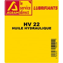 Huile hydraulique HYDRO HV 22 25L