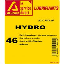 Huile hydraulique HYDRO HV 46 25L