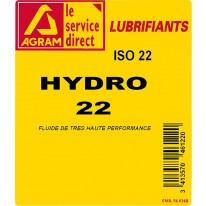 Huile hydraulique HYDRO HV 22 - 60L