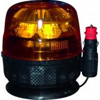 GYROPHARE MAGNETIQUE 12/24V 8 LEDS 9W GA