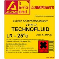 Liquide refroidissement LR-25 Universel 210l