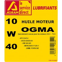 Huile OGMA 10W40 60l