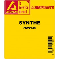 Huile transmission SYNTHE 75W140 220L
