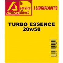 Huile Turbo essence 60L 20W50