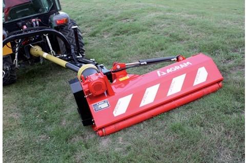 """Broyeur d'accotement """"BA GARDEN"""" 1,32 et 1,55 m - micro tracteur"""