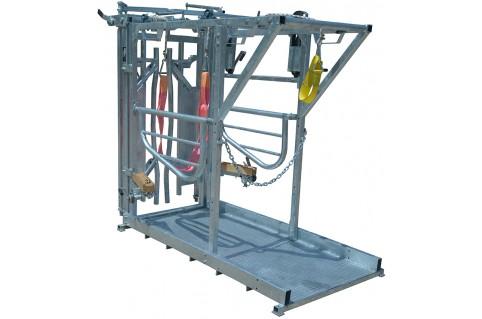 Cage de parage - Métier à bovins laitiers et viandes