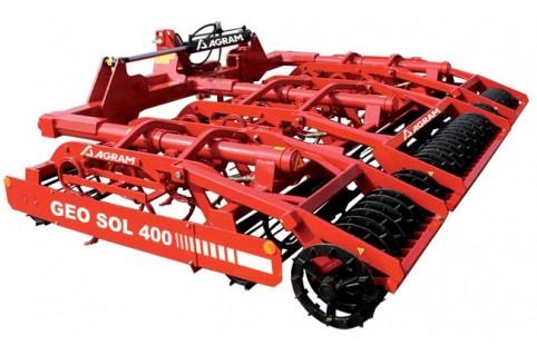 Préparateur de sol agricole