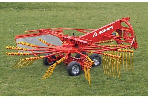 """Andaineur monorotor porté """" grande largeur"""" QUAD 484"""