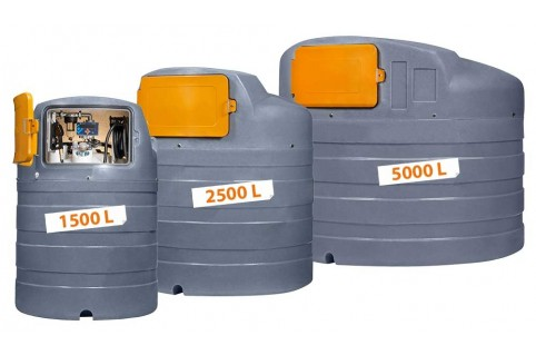 Station Fioul, Gasoil et GNR polyéthylène haute densité traité anti UV