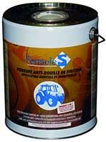 peinture antirouille de finition orange pour renault pot de 4 litres. Black Bedroom Furniture Sets. Home Design Ideas