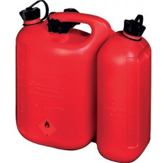 JERRICAN DOUBLE 5.5L+3L, ROUGE