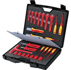 COFFRET STANDARD  26 OUTILS ISOLES 1000V KNIPEX