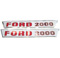 Kit Autocollant Ford/New Holland2000 Groupe Pré