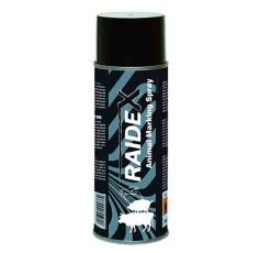 Spray de marquage 400ml noir  Raidex