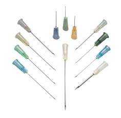 Aiguilles à usage unique Fine 0,6x25mm (