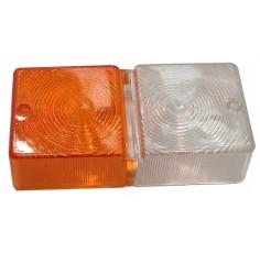Lentille  Ford/New Holland poiur refs 41137 4149 4150 Lampe frontal