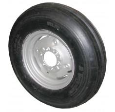 Jante complète 750 X 16 avec pneu