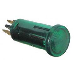 Voyant vert 12V-13mm Trou