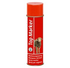 Spray de marquage ovins rouge TopMarker,
