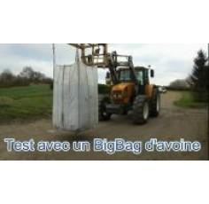 Indicateur de pesée électronique adaptable sur chargeur tracteur SANS LOAD SENSING