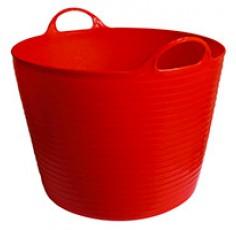 Seau flexible Flexbag 42 l, rouge