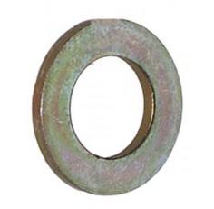 Rondelle plate 1/2 'de zinc lourd et jaune