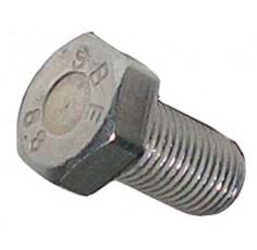 Boulon M14 x 25 fines de zinc plaqué