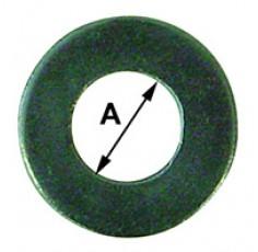 RONDELLE PLATE MN ZN 12MM (BOX DE 15)