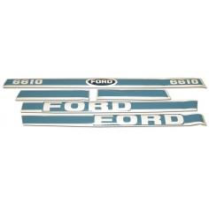 Kit Autocollant Ford 6610 - Avec cabine