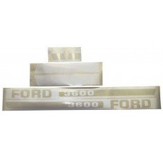 Kit Autocollant Ford NH 3600
