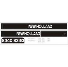 Kit Autocollant Ford NH 8340 (de 97)