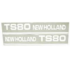 Sticker New Holland TS80 - Set