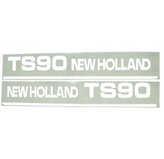 Autocollant New Holland TS90 - Set